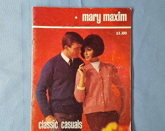 Mary Maxim Classic Casuals Pattern Book