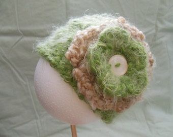 Adorable Baby Crochet Hat for that Special Little Someone, Size Newborn