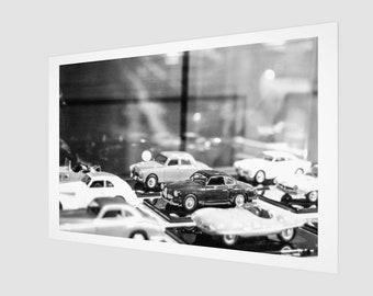 Alfa Romeo Toy Car Archival Quality Art Print Paris France, 1:50 Limited Edition / wall art / home decor / modern / classic / vintage
