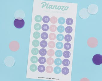 Weight Tracker Sticker Sheet | Quirky Planner Stickers