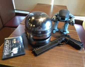1:1 Robocop Steel Helmet Armor for cosplay