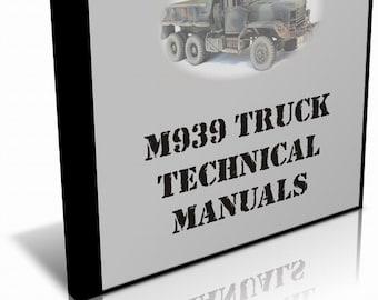 Truck 5 Ton 6x6 M939/A1/A2 Series Operators/Technical Manuals on CD