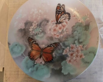 Collectable Butterfly Plate