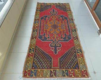 Turkish Oushak Rug, Carpet Rug 8.8 x 4.1 feet