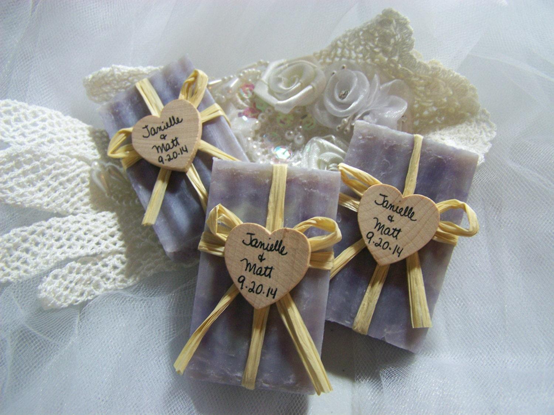 40 Wedding Favors Soaps Mini Soaps Lavender Shea Butter