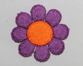 Purple Daisy Patch
