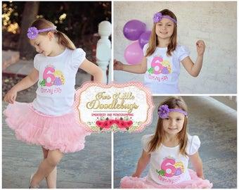 Princess Birthday Shirt Tangeled Birthday Shirt Rapunzal Shirt Princess Rapunzal Shirt Disney Birthday Princess Shirt