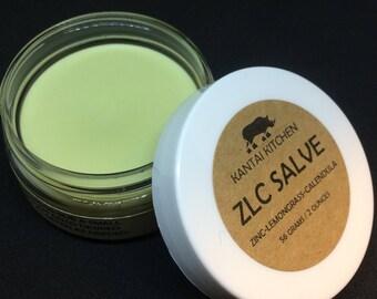 New!  ZLC Salve (Zinc - Lemongrass - Calendula)