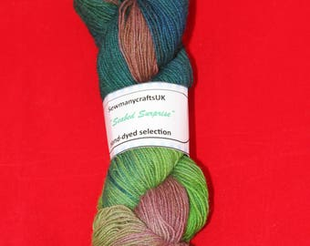 Seabed Surprise 100% wool yarn 4ply