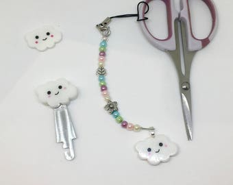 SET! Scissor Fob + Needle Threader + Needleminder