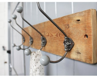 Limited Edition Reclaimed Rosette Hat And Coat Hook