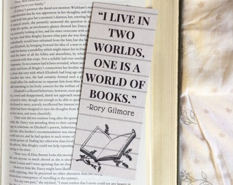 Rory Gilmore Gilmore Girls Quote Bookmark