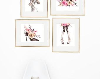 Kiki art prints painted teen