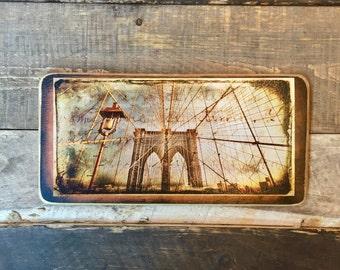 Brooklyn Bridge Cables - 10x20 inches