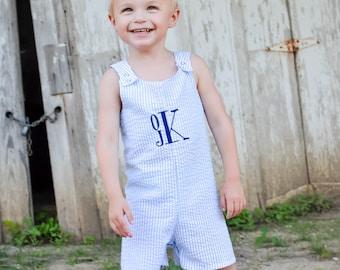Boys Jon Jon - Jon Jon - Baby Boys Shortall - Boys Overalls - Shortalls - Boy Romper - Boy Shorts - Boy Sunsuit - Boys Summer Outfit