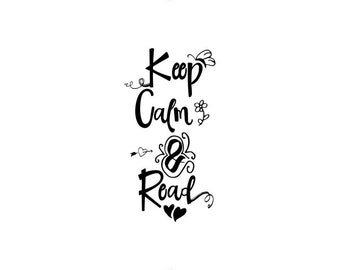 Keep Calm and Read! | Bookmark!