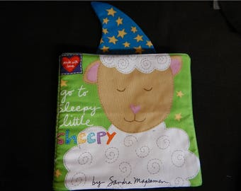 Washable cloth book - Christmas  Book - Story Book