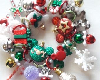 Mickey Mouse Christmas bracelet/Beadiebracelet
