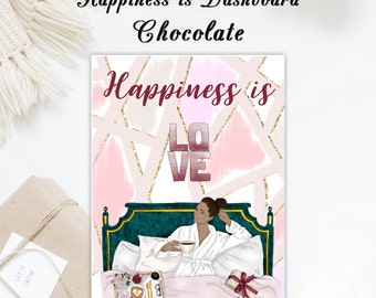 Happiness is   Travelers notebook Dashboard   Skin Tone Options Available
