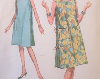 Vintage McCall's 6361 Sewing Pattern, 1960s Dress Pattern, Beach Cover Up Pattern, 1960s Muu Muu Pattern, Bust 31 - 32, 1960s Sewing Pattern