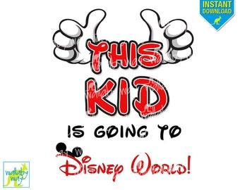 Going Disney World Etsy - Disney surprise letter template