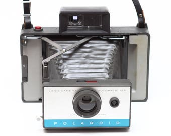 Vintage Polaroid 125 Instant Film Folding Land Camera Made in USA 1960s Fully Operational