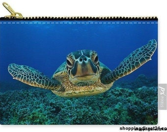 A Turtle World - Carry-All Pouch