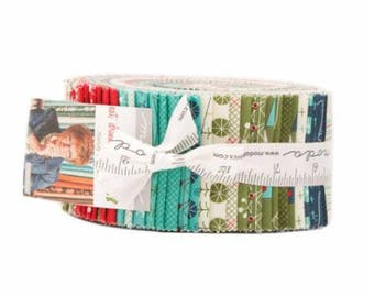 SPRING SALE - Eat Drink and Be Ugly - Jelly Roll - Sandy Gervais - Moda Fabric