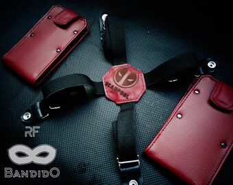 DEADPOOL LIMITED EDITION Smartphone & Wallet Holster