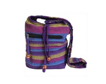 Shoulder bag, Ökotasche, purple, purple