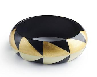 bracelet AGUAYO Gold - Black - White