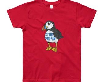 Stud Puffin Big Kids T-Shirt