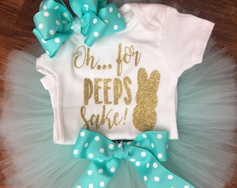 Peeps Easter outfit