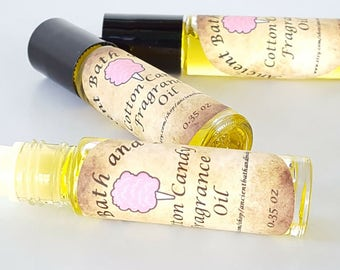 Cotton Candy Fragrance Oil, Cotton Candy Perfume Oil, Cotton Candy Scented Oil