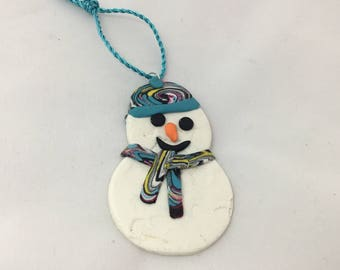 Snowman gift tag/ Christmas decoration