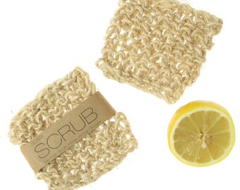 Kitchen Scrub,  kitchen scourer, biodegradable pot scrubber, dish scrub functional gift that can be washed in the dishwasher.