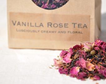 Vanilla Rose Tea