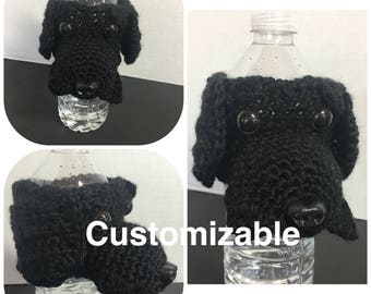 Crochet Cup, cozy dog coffee cup, coffee cup sleeve, mug cozy, tea cup, mug sweater, tea mug dog, coffee mug dog