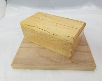 Keepsake Box - Maple
