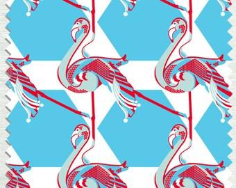 Fabric in Elle Mingo Pattern Poppy color