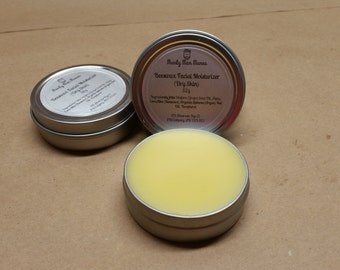 Beeswax Facial Moisturizer / Homemade / Natural Moisturizer / Skin Cream / Lotion / Vegetarian /
