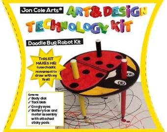 Handmade Doodlebug Robot design technology kit