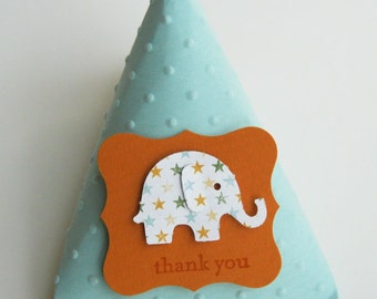 Elephant Baby Shower Favors - Birthday Party Favors Set of 12