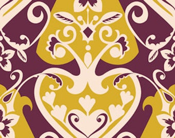 Anna Maria Horner HDAH09 Innocent Crush Home Decor Queen Of Hearts Plum Fabric