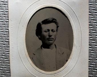 Tintype - Young Bon Vivant Gentleman
