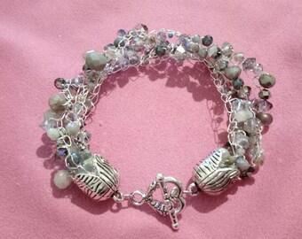 Bracelet Metallic Grey tones