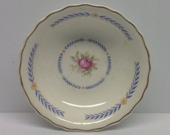 Vintage Canonsburg Pottery Keystone DU BARRY 5 inch Berry Bowls