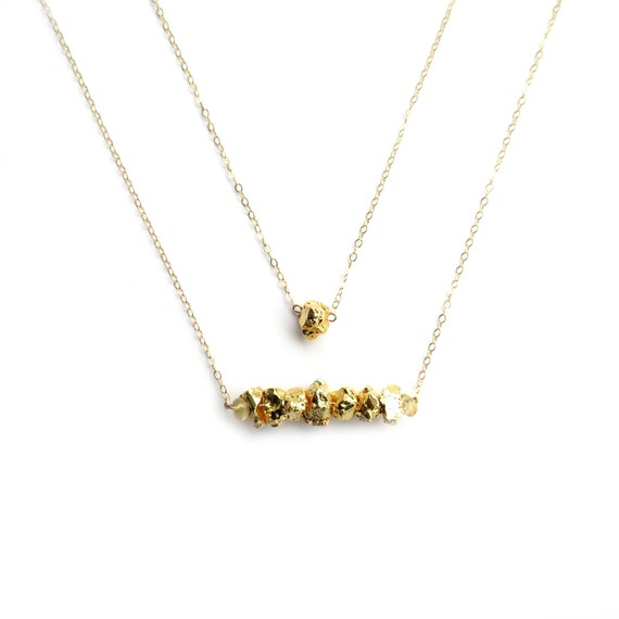 Fools Gold Layer Necklace