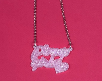 Pinup Girl Necklace