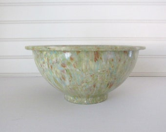 Texas Ware confetti mixing bowl 111/celery green melamine bowl